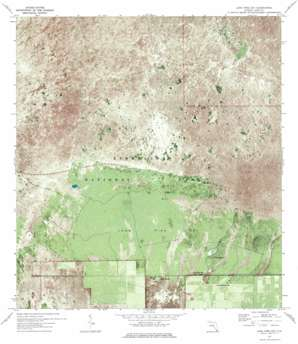 Long Pine Key USGS topographic map 25080d6