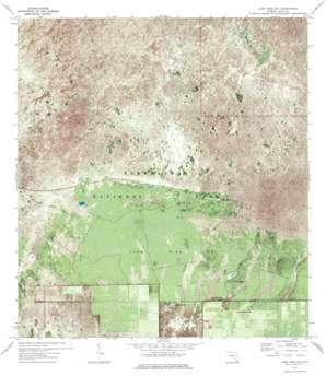 Long Pine Key USGS topographic map 25080d6