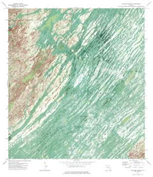 Panther Mound USGS topographic map 25080e7