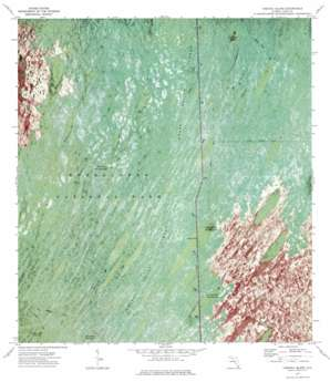 Chekika Island USGS topographic map 25080f6