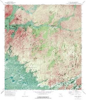 Big Boy Lake USGS topographic map 25081f1