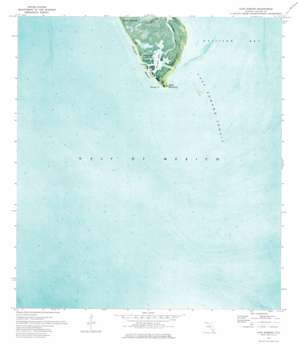 Cape Romano USGS topographic map 25081g6