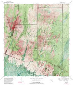 Ochopee USGS topographic map 25081h3
