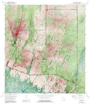 Ochopee topo map