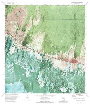 Weavers Station USGS topographic map 25081h4