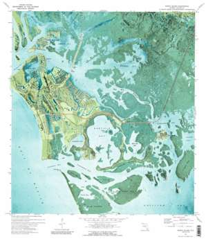 Marco Island USGS topographic map 25081h6