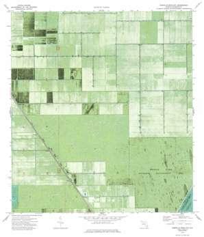 Everglades 1 Ne USGS topographic map 26080d5