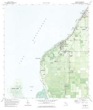 Pahokee USGS topographic map 26080g6