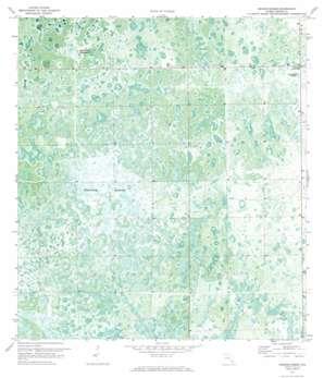 La Belle 4 Sw topo map