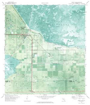 Moore Haven topo map