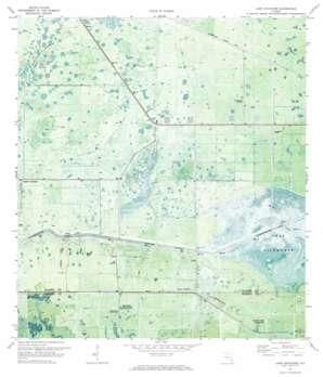 Lake Hicpochee USGS topographic map 26081g2