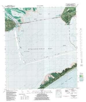 Apalachicola topo map