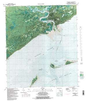 Carrabelle USGS topographic map 29084g6