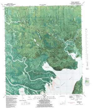 Beverly USGS topographic map 29084g8