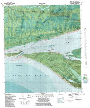 Indian Pass USGS topographic map 29085f2