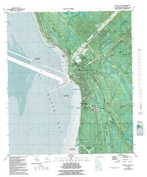 Port Saint Joe topo map