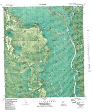 Forbes Island topo map
