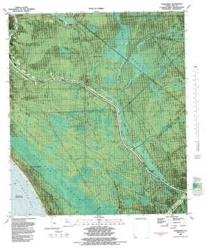 Overstreet topo map