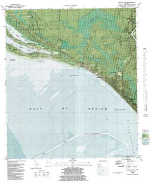 Beacon Hill topo map