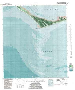 Cape Saint George topo map