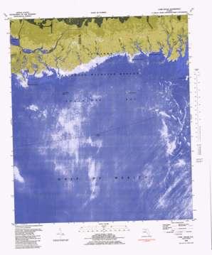 Cobb Rocks topo map