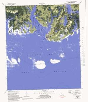 Sprague Island topo map