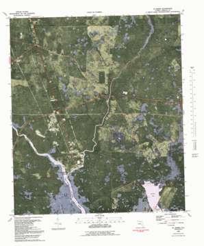 Saint Marks topo map