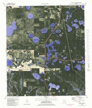 Crystal Lake topo map