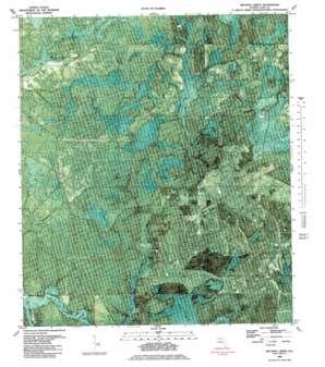 Wetappo Creek topo map