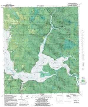 Allanton topo map