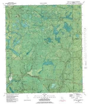North Of Allanton topo map