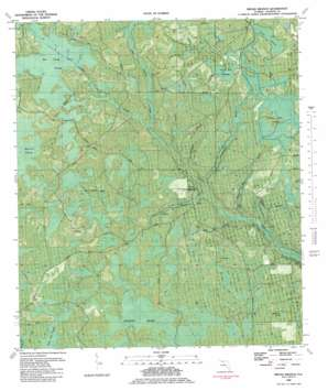Broad Branch topo map