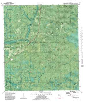 Youngstown topo map