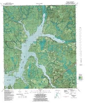 Bayhead topo map