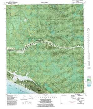 Seminole Hills topo map