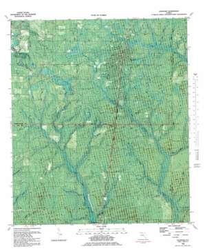 Fountain topo map