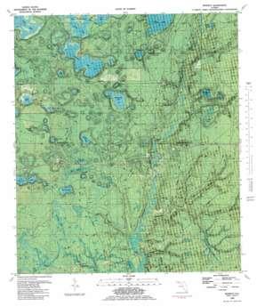 Bennett topo map