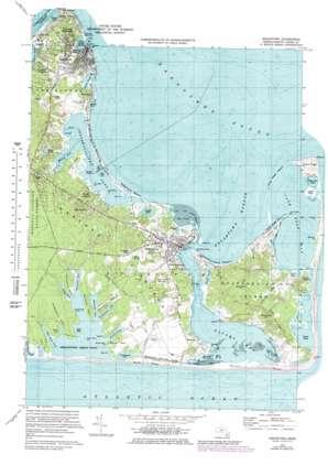 Edgartown topo map