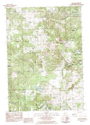 Hatton topo map