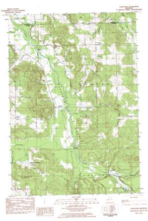 Charlevoix USGS topographic map 45085a1
