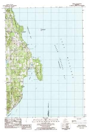 Omena topo map