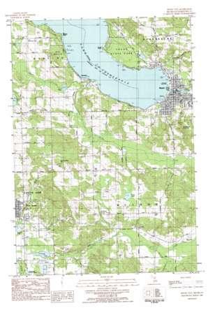 Boyne City topo map