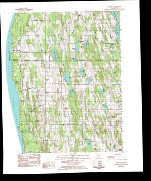 Atwood topo map