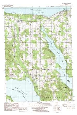 Bayshore topo map