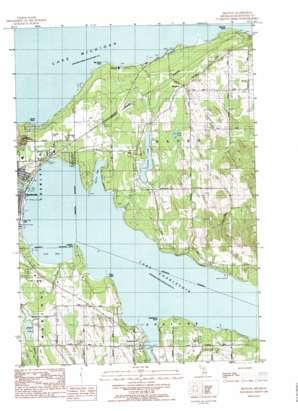 Ironton topo map