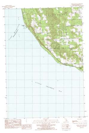 Forest Beach topo map