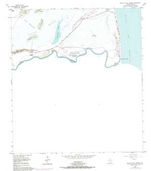 Mouth Of Rio Grande USGS topographic map 25097h2