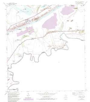 Palmito Hill USGS topographic map 25097h3