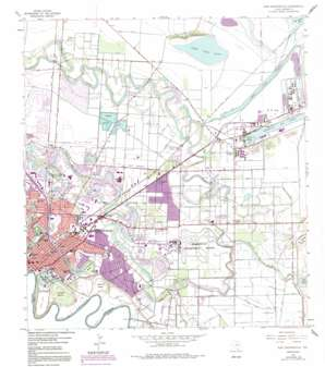 East Brownsville topo map