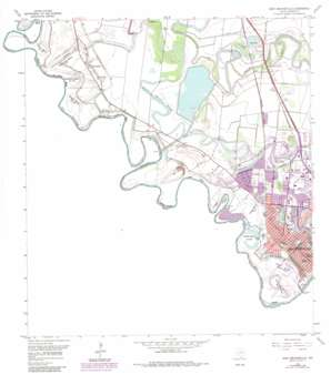 West Brownsville USGS topographic map 25097h5